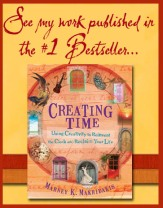 i'm published in creating time by marney makridakis
